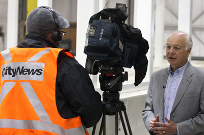 City TV News Interiview with Charles Dean, HC Piper