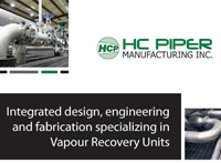Alberta Oil Magazine Ad for HC Piper Manufacturing Inc.