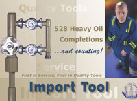 Oilfield Magazine Ad for Import Tool